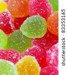 close up of colorful candies ... | Shutterstock . vector #83353165