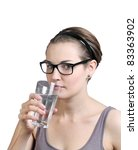 drink water | Shutterstock . vector #83363902