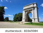 national memorial arch monument ... | Shutterstock . vector #83365084