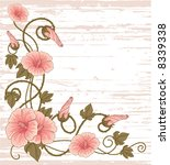 flowers decoration | Shutterstock .eps vector #8339338