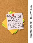 Practice Makes Perfect Write O...