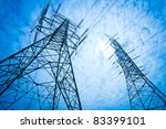 power tower | Shutterstock . vector #83399101