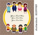 family card   Shutterstock .eps vector #83399989