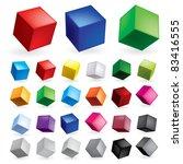Raster Version. Cubes In...