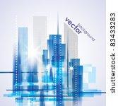 city landscape   Shutterstock .eps vector #83433283