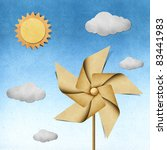 Windmill Recycled Papercraft On ...