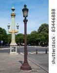 lamps in paris france
