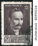 romania   circa 1956  stamp...   Shutterstock . vector #83453116