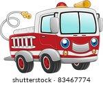 Illustration Of A Firetruck...
