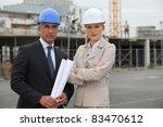 portrait of two contractors | Shutterstock . vector #83470612