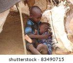 dadaab  somalia august 15  an...   Shutterstock . vector #83490715