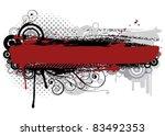 grunge rusty background | Shutterstock .eps vector #83492353