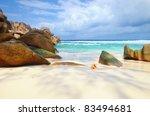 Granite Rocky Beaches On...