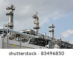 gas processing factory | Shutterstock . vector #83496850