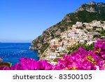 Panoramic View Of Positano On...