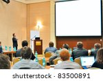 meeting  conference ... | Shutterstock . vector #83500891