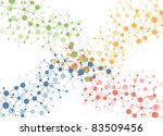 color molecule connection...