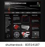 vehicle tuning website | Shutterstock .eps vector #83514187