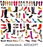 shoes background   Shutterstock . vector #83516197