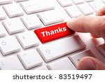 thank you or thanks concept... | Shutterstock . vector #83519497