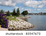 Kempenfelt Bay, Barrie, Ontario - stock photo