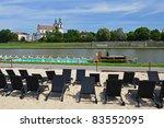 Public Beach On Vistula River...