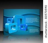 flyer or cover design | Shutterstock .eps vector #83570590