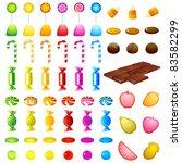 illustration of set of... | Shutterstock .eps vector #83582299