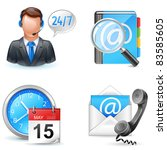 business icons   live chart ... | Shutterstock .eps vector #83585605