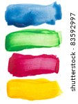 Colorful Watercolor Brush...
