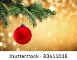 Shiny Christmas Ball Hanging O...