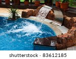 Relaxation Pool In A Leisure...