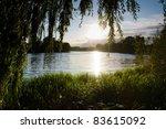Sunset On A Small Lake