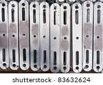 metal flat brace in stockpile... | Shutterstock . vector #83632624