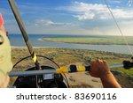 flying over the danube delta... | Shutterstock . vector #83690116