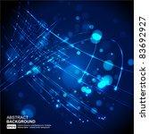 abstract vector background | Shutterstock .eps vector #83692927