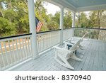 Porch With Two Rocking Chairs...
