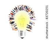 idea business icon | Shutterstock . vector #83720251