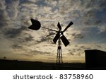 Wind Mill Early In The Morning