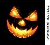 halloween jack o lantern smiley ... | Shutterstock .eps vector #83771212