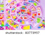 colorful beads collection | Shutterstock . vector #83773957