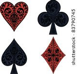 Hearts  Clubs  Spades And...