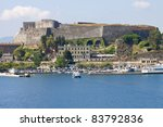 old byzantine fortress of corfu ... | Shutterstock . vector #83792836