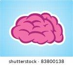 brain symbol | Shutterstock .eps vector #83800138