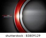 vector of abstract metallic... | Shutterstock .eps vector #83809129