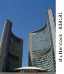 Stock photo city hall toronto canada 838181