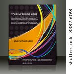 vector editable presentation of ... | Shutterstock .eps vector #83825098