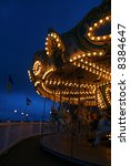 carousel at night | Shutterstock . vector #8384647