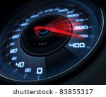 Speedometer Scoring High Speed...