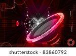 digital illustration of car... | Shutterstock . vector #83860792